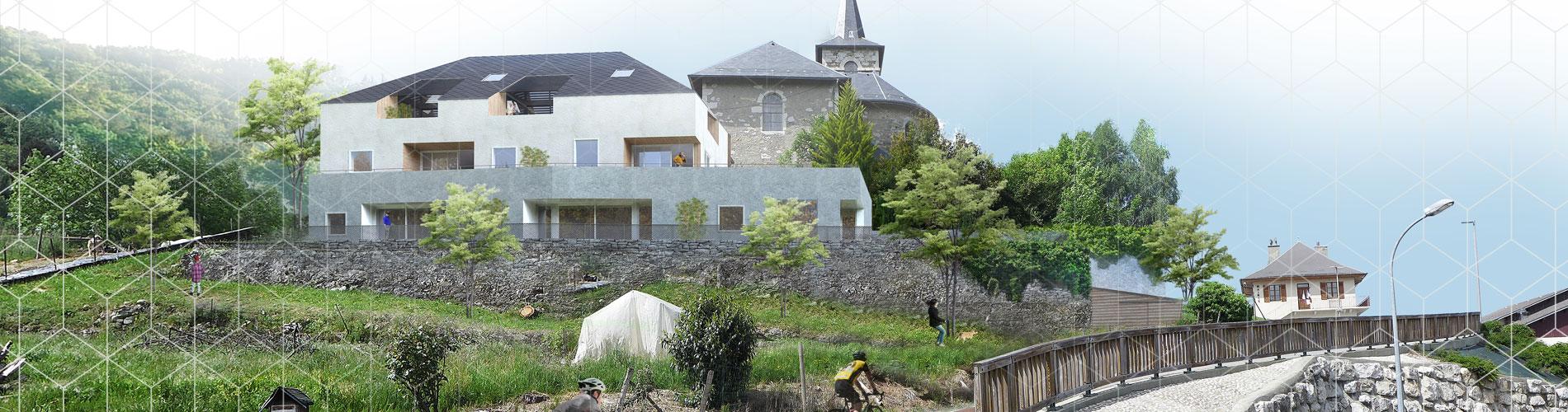 Opération le presbytère à Saint Sulpice (73)