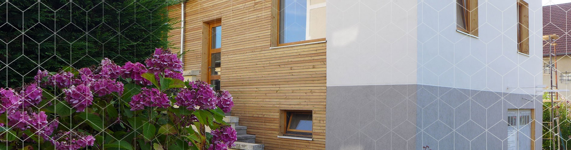 asb architecte architecture chambery maison individuelle bois neuf contemporain