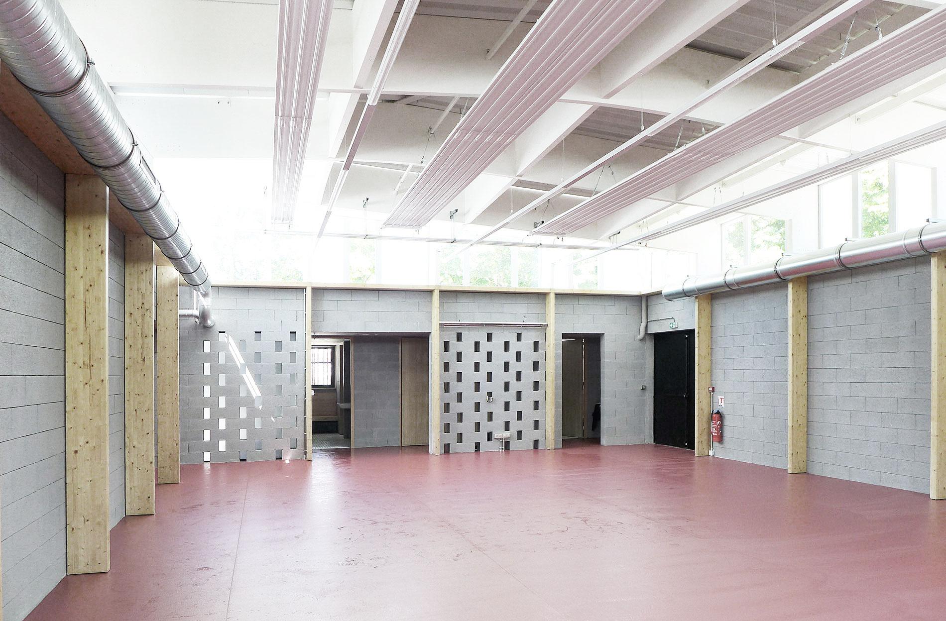 salle de boxe asb architecture equipement sportif