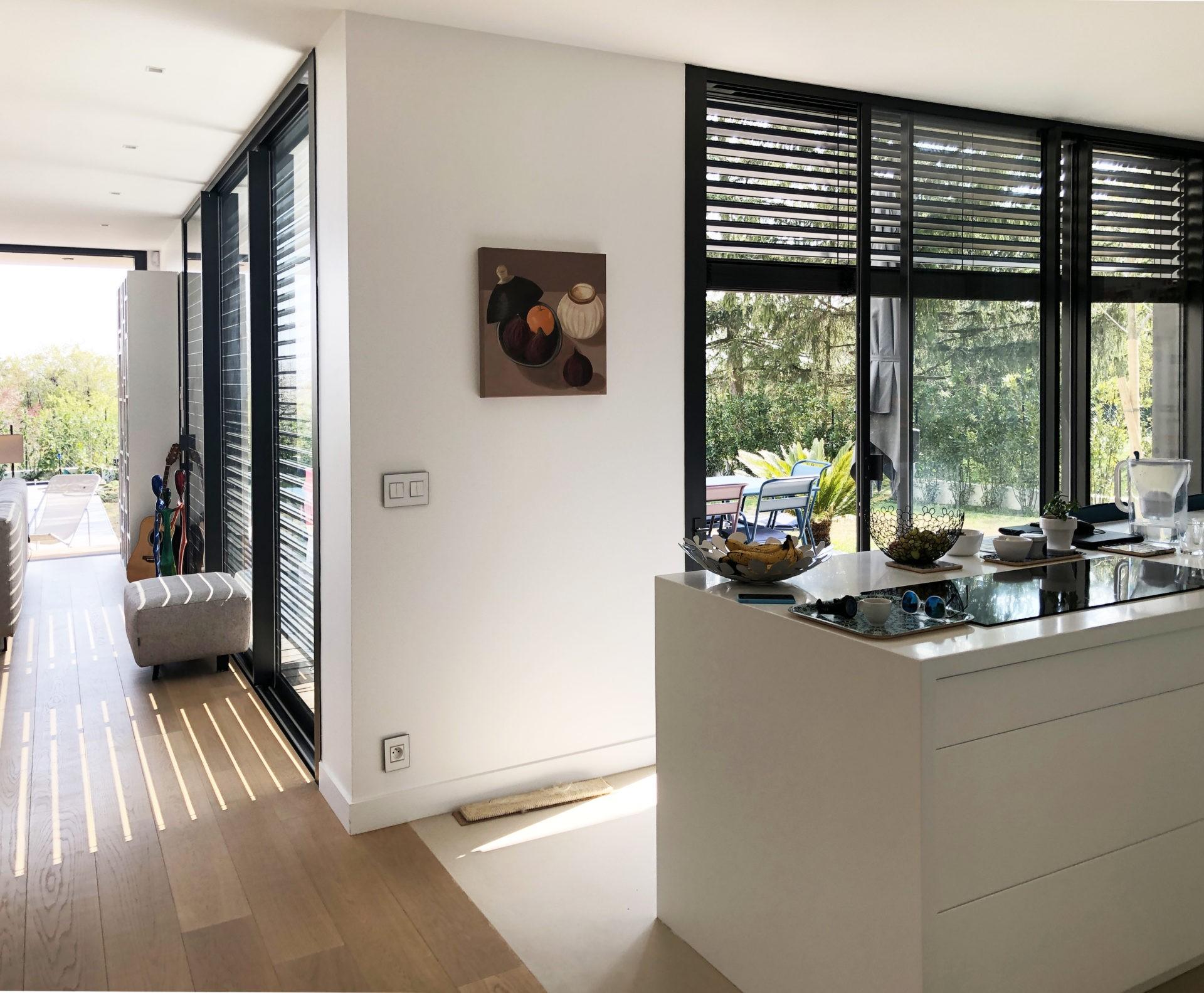 asb-architecture-maison-contemporaine-toiture-terrasse-cuisine ouverte