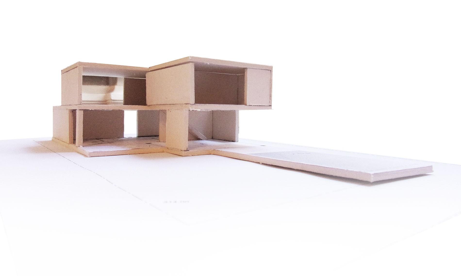 asb-architecture-maison-contemporaine-toiture-terrasse-maquette-3   ASB architecture