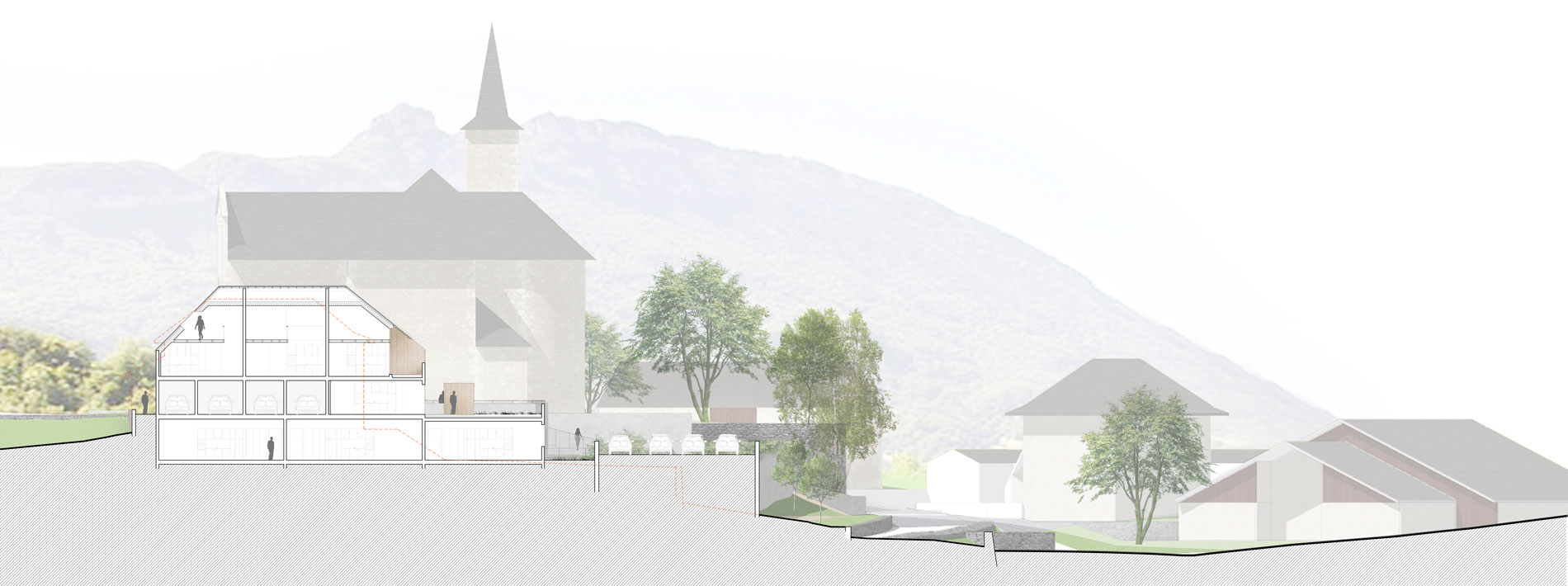 concours-saint-sulpice-savoie-logements-chef-lieu-habitat-dans-la-pente-coupe-2