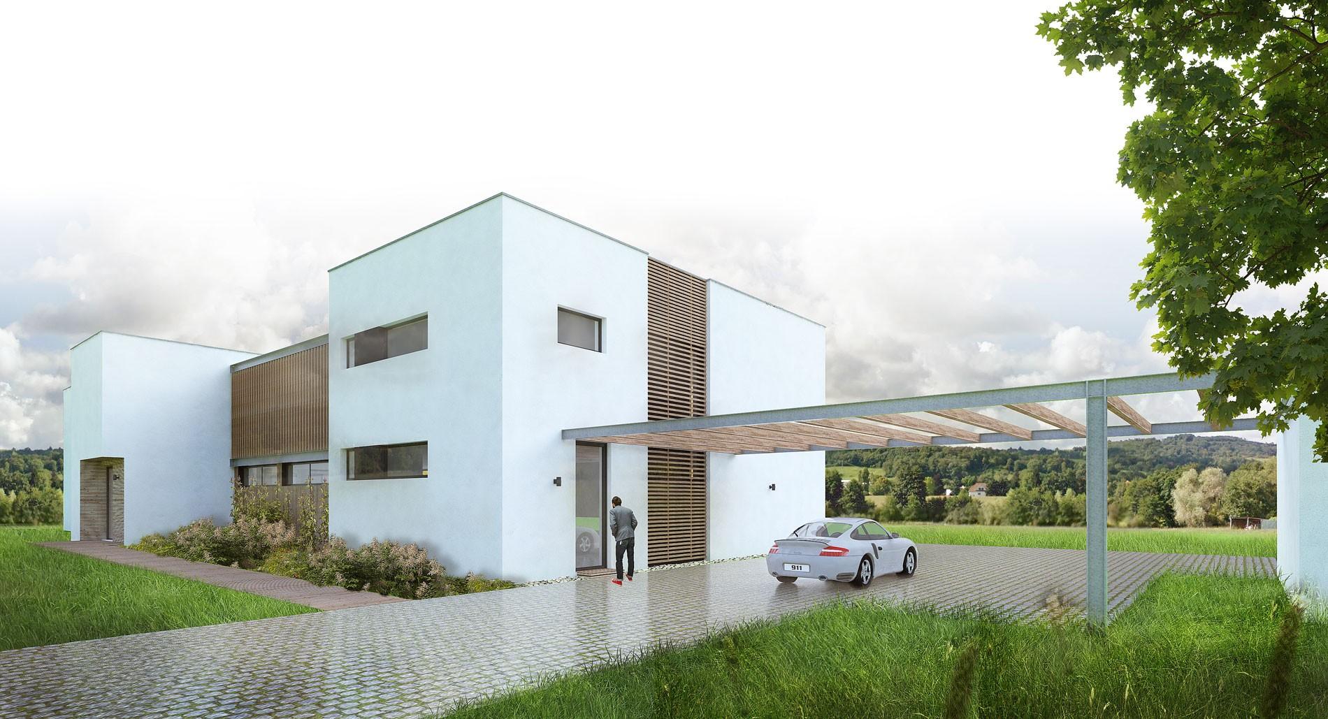 maison-contemporaine-toiture-terrasse-bois-metal-brique-piscine-spa-2