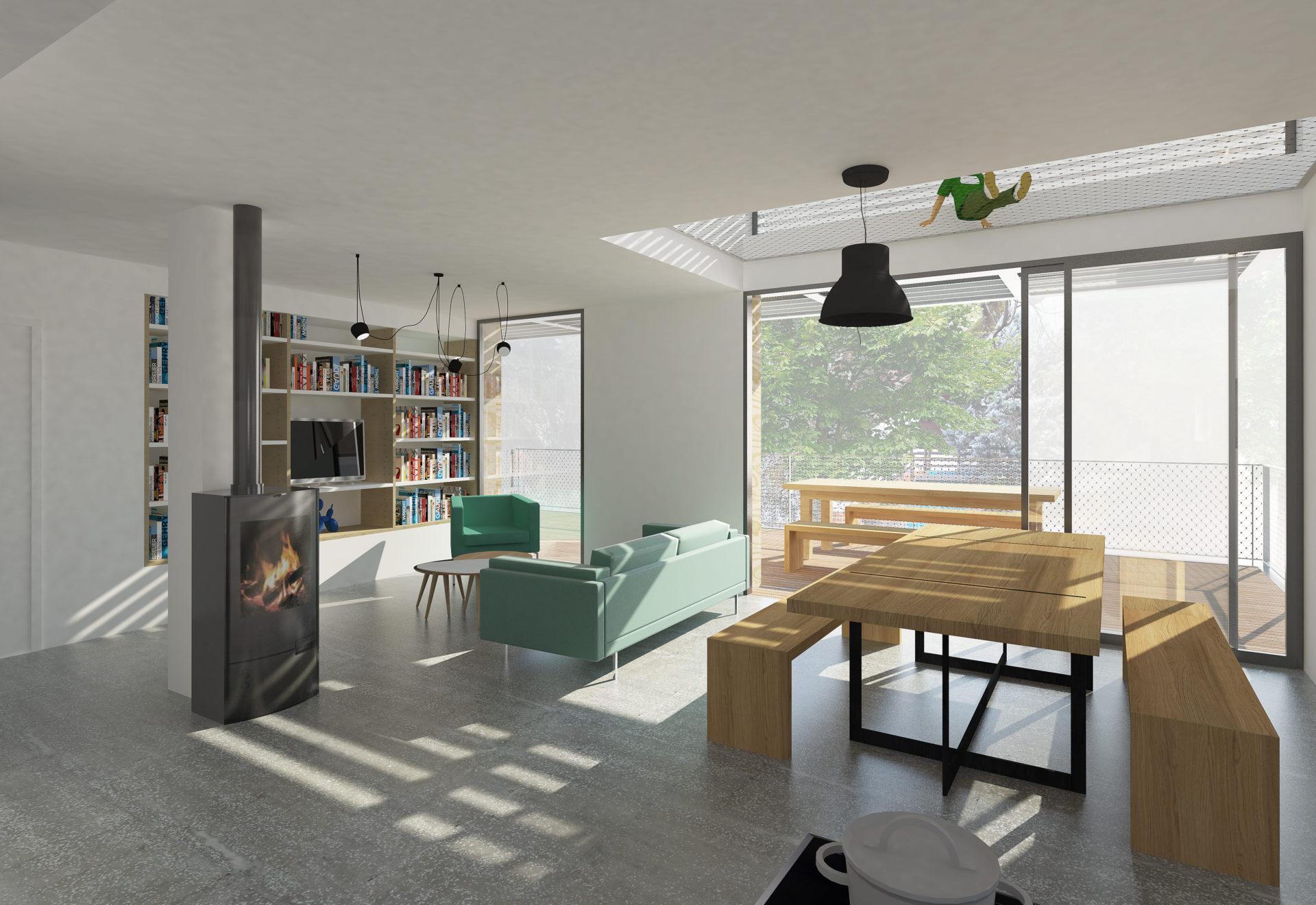 ASB architecture architecte chambery maison individuelle contemporaine bois tresserve savoie 4