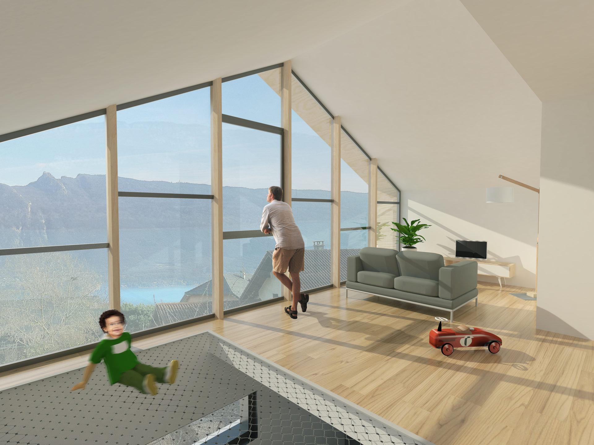 ASB architecture architecte chambery maison individuelle contemporaine bois tresserve savoie 5