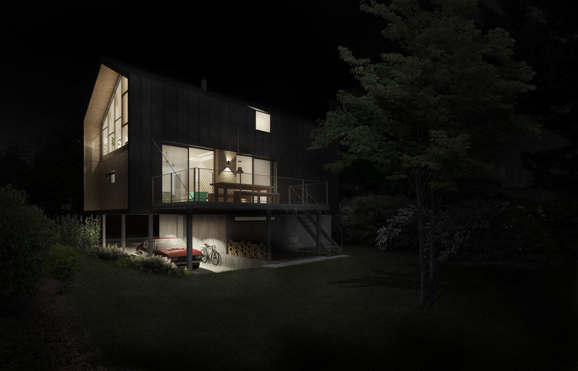 ASB architecture architecte chambery maison individuelle contemporaine bois tresserve savoie 7