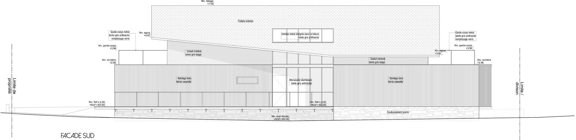 ASB architecte chambery savoie maison ossature bois bourdeau 2