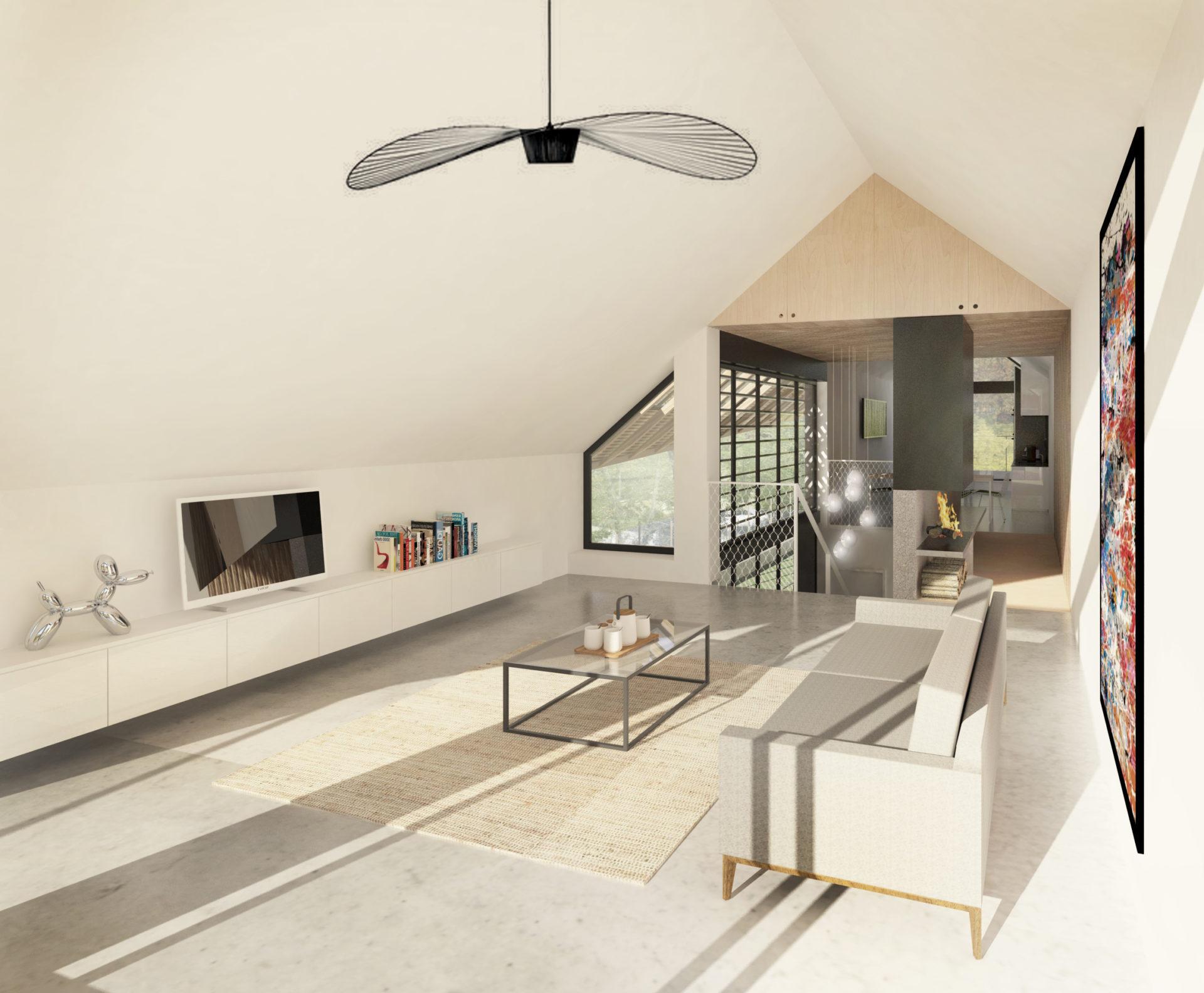 ASB architecte chambery savoie maison ossature bois bourdeau 3