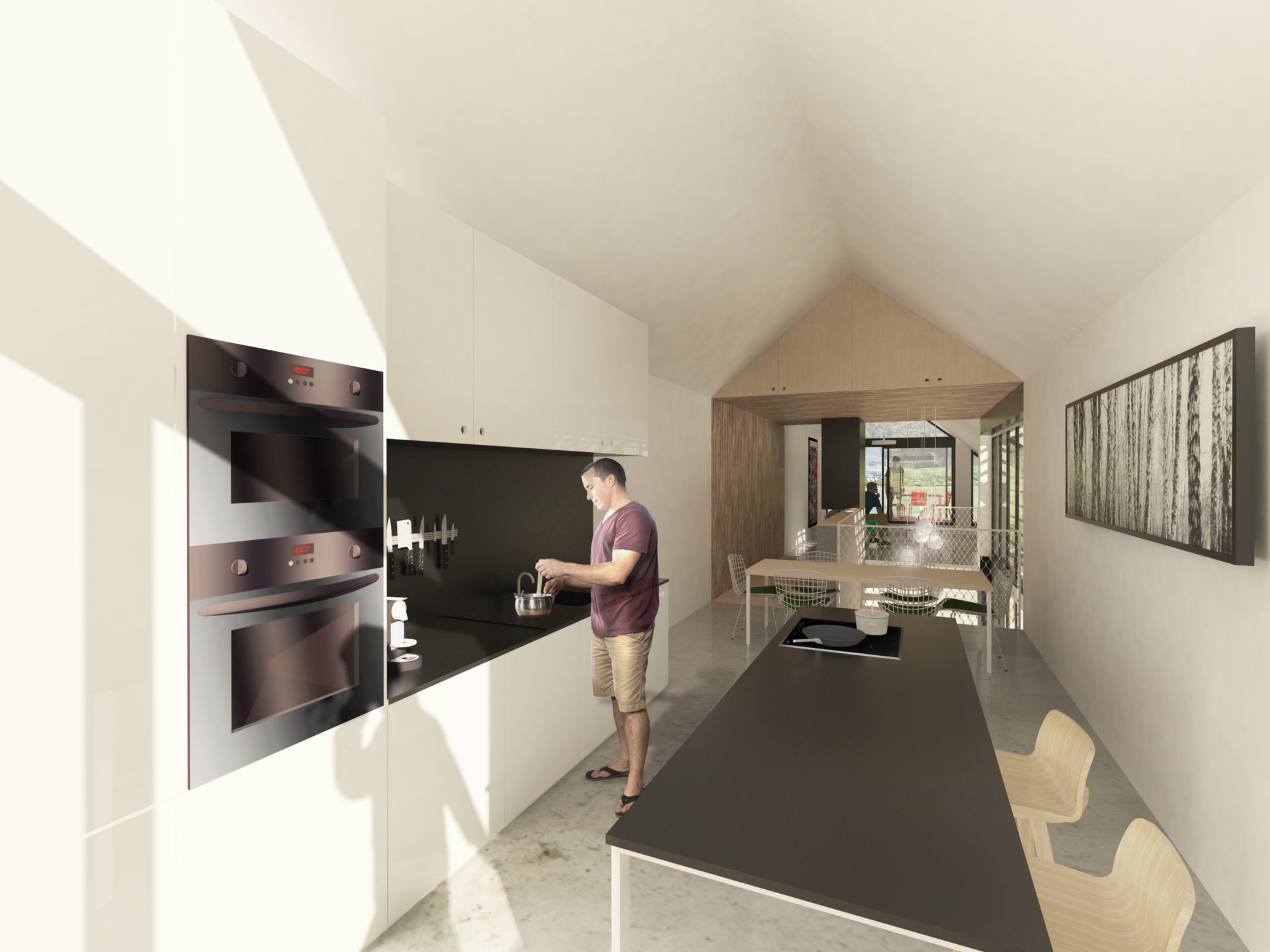 ASB architecte chambery savoie maison ossature bois bourdeau 4