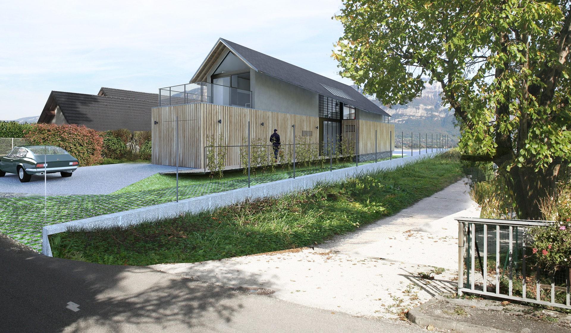 ASB architecte chambery savoie maison ossature bois bourdeau 5