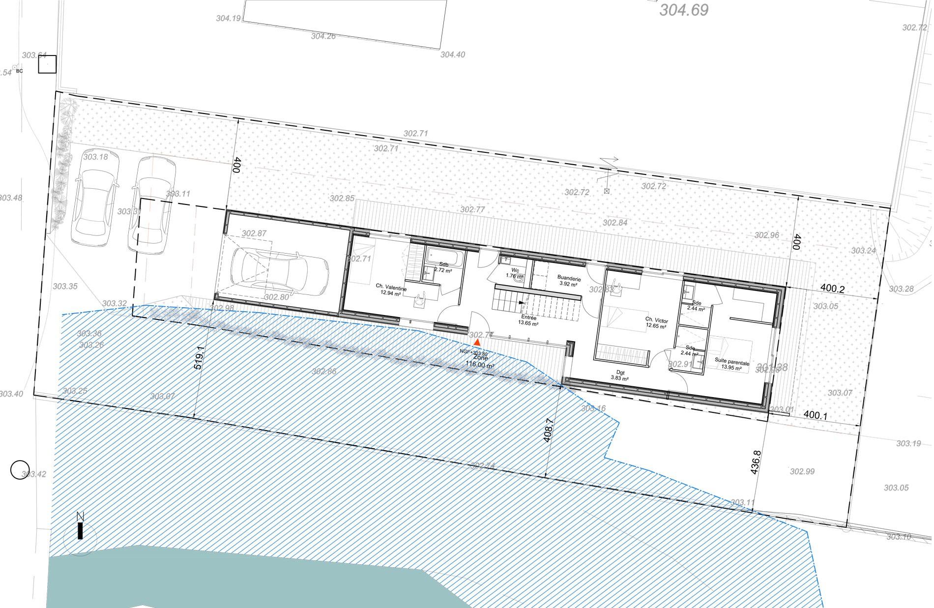 ASB architecte chambery savoie maison ossature bois bourdeau 6