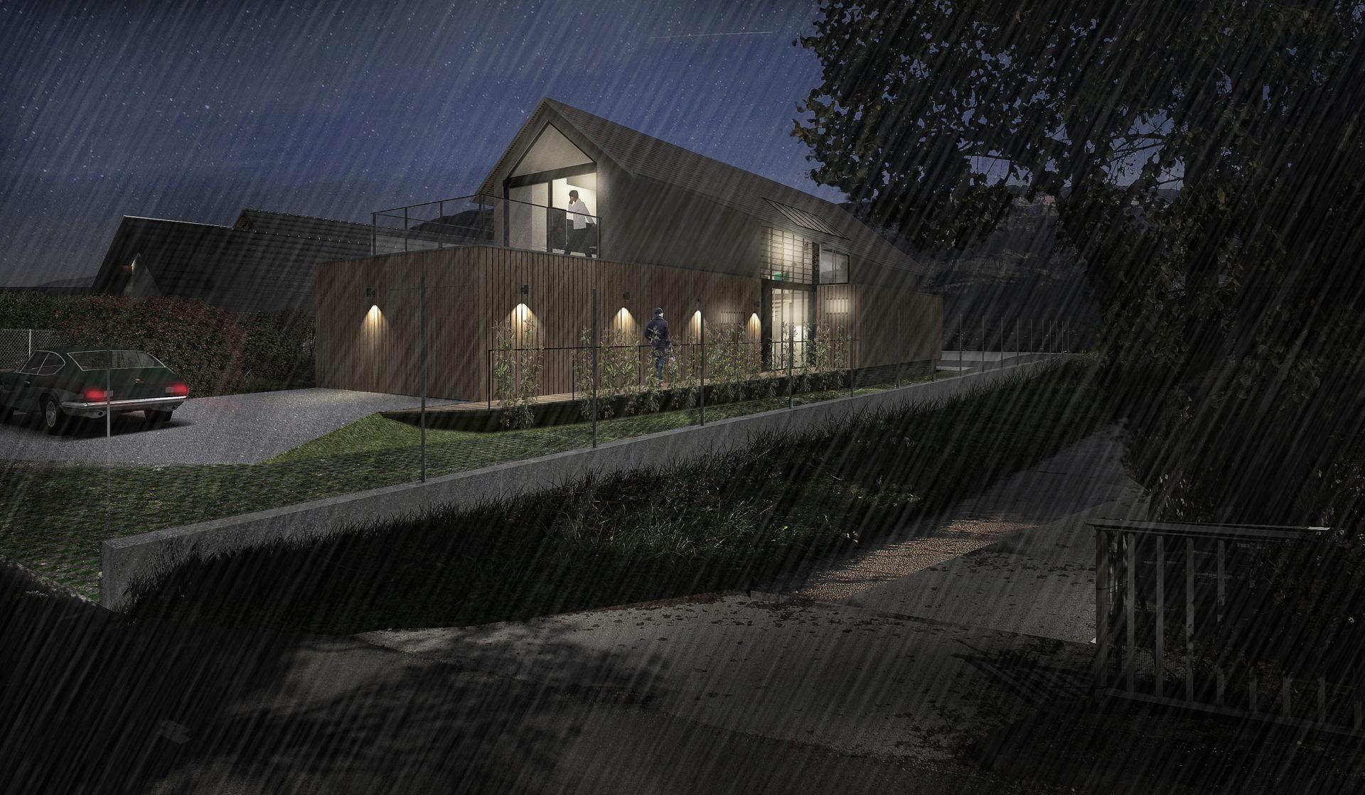 ASB architecte chambery savoie maison ossature bois bourdeau 8