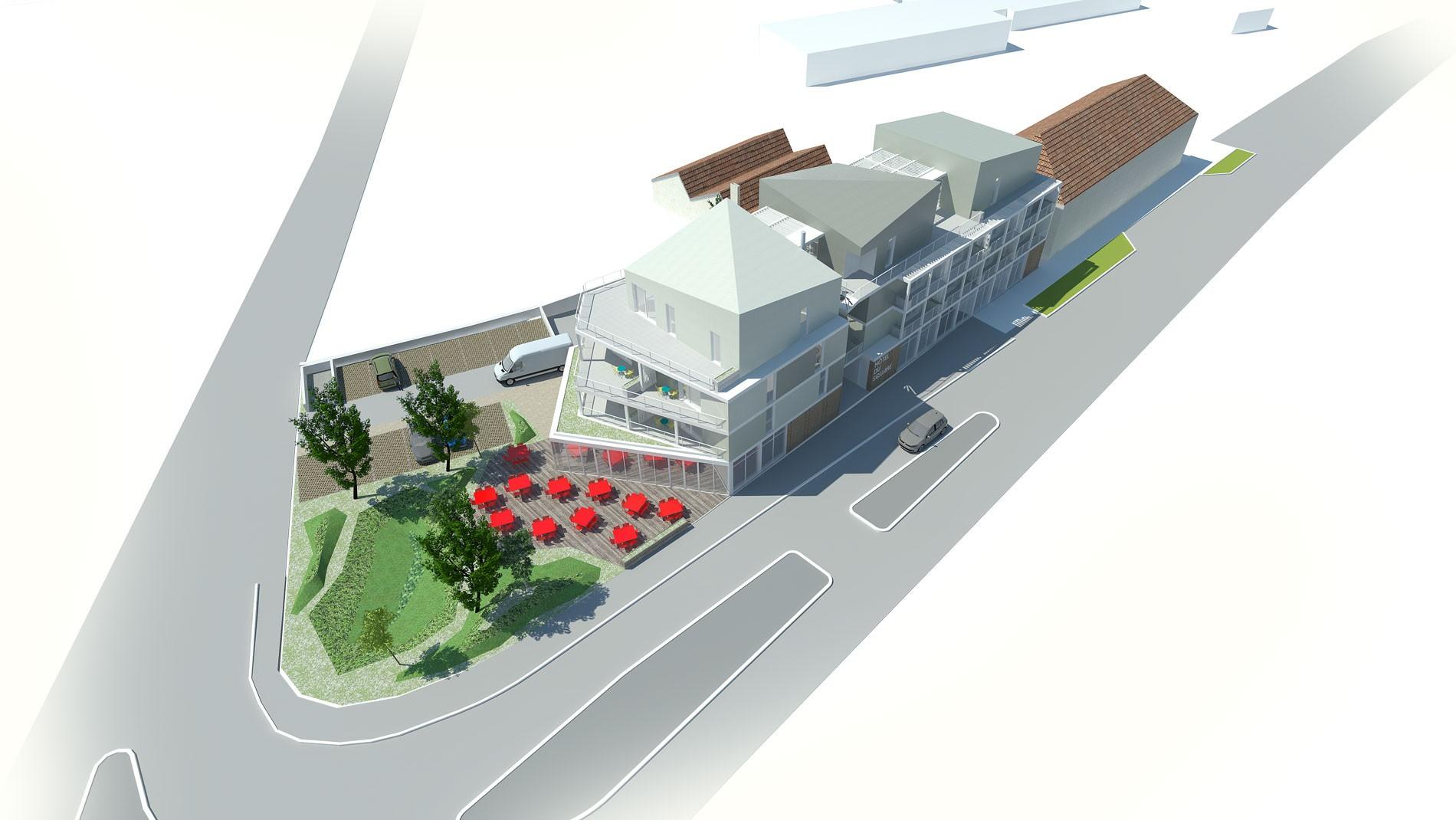 ASB architecture - chambéry savoie logement hotel restaurant 1