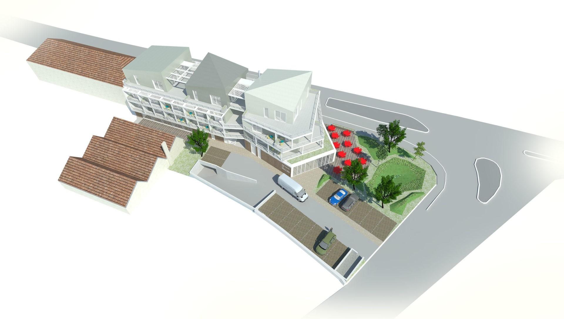 ASB architecture - chambéry savoie logement hotel restaurant 2